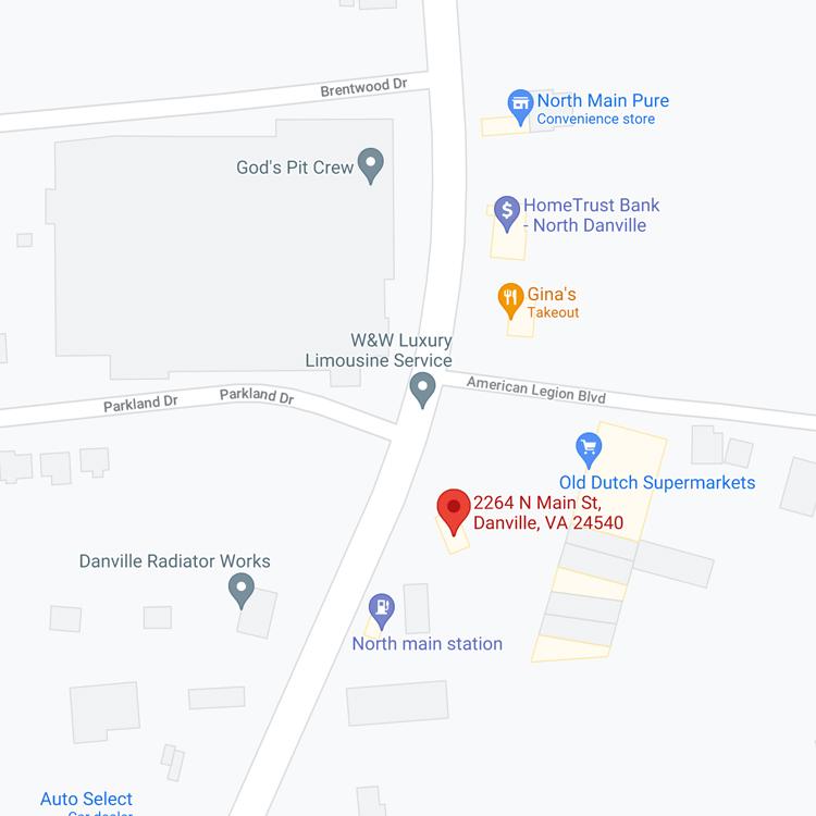Tire Shop Danville Location