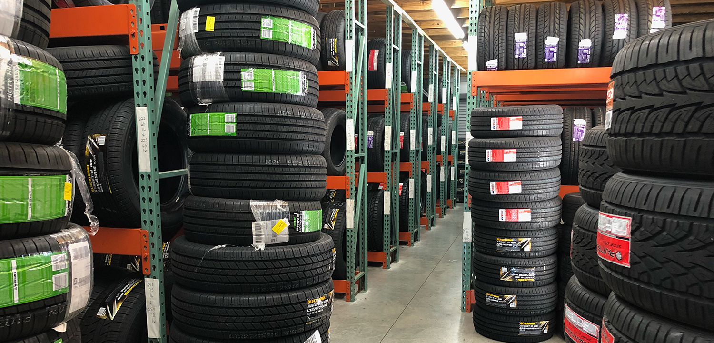 Barlow's Tire Selection