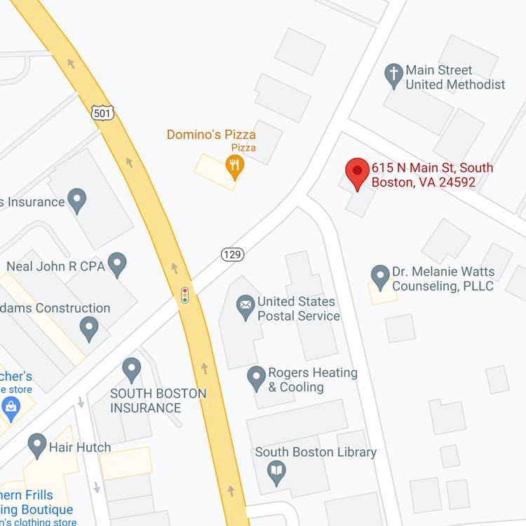 Tire Shop South Boston Location